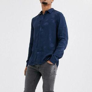 Topman Premium Floral Jacquard Shirt Sz XS